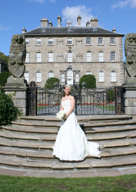 Beautiful Bride At A Wedding At Pollok House, Glasgow By Hi Tec Wedding Photography